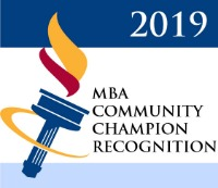 MBA Community Champion Recognition 2019