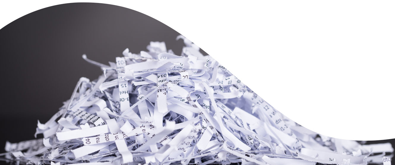 Image of shredded paper
